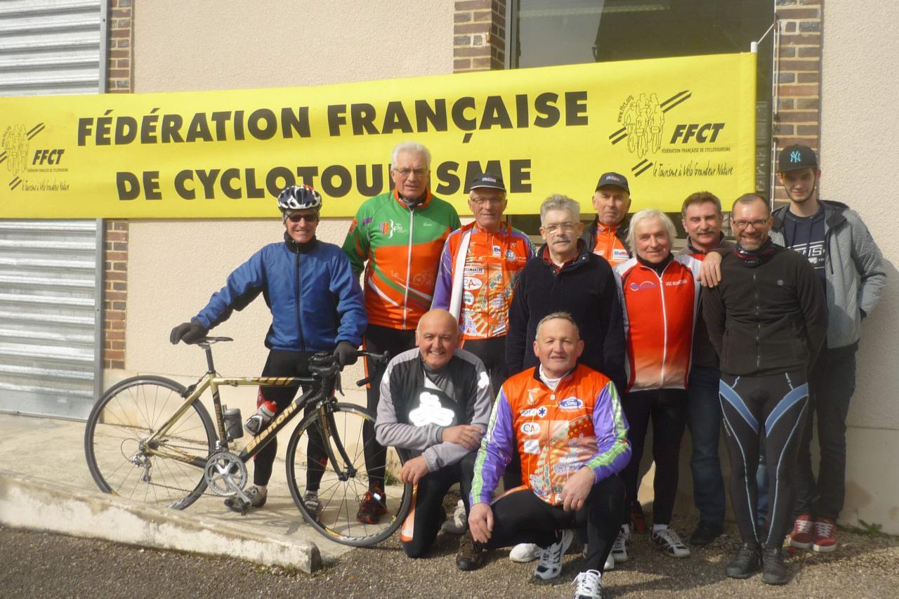 Brevet Tholon 13 Mars 2016_Asptt Auxerre Cyclo